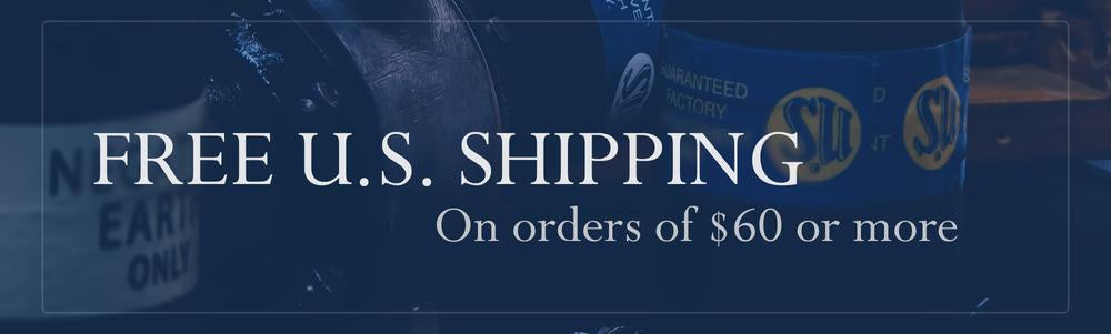 Free US Shipping on orders of $60.00 or more!