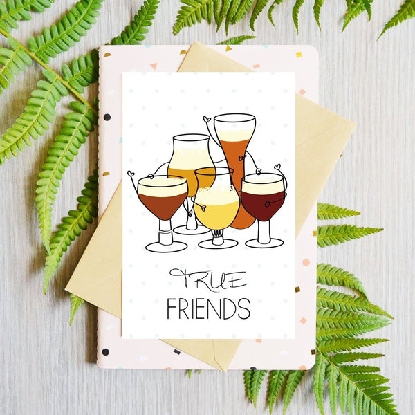 Card True Friends