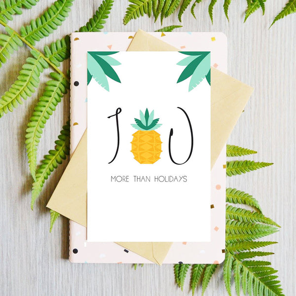 Card Pineapple
