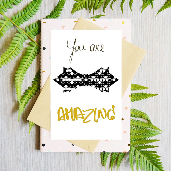 Card You Are Amazing