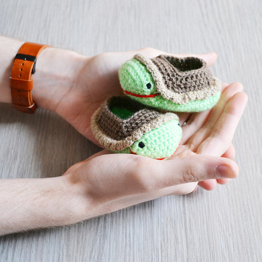 My Little Turtle Baby Shoes