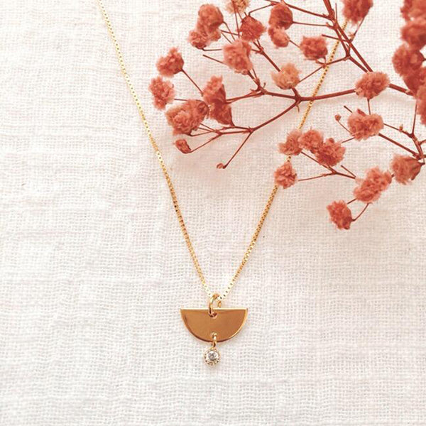 Short Geometric Necklace