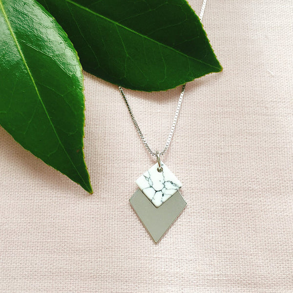 Geometric Necklace