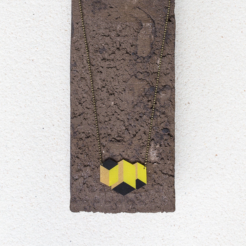 Cubik Short Necklace