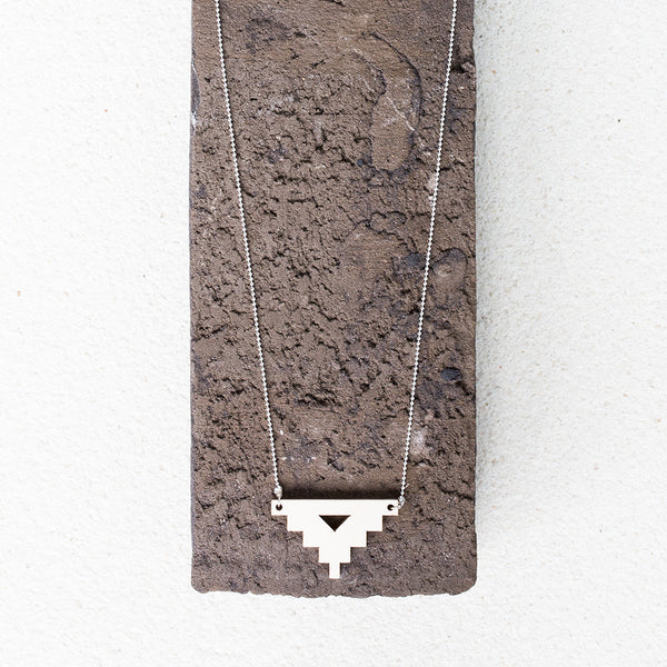 Wooden Necklace Plain Wood
