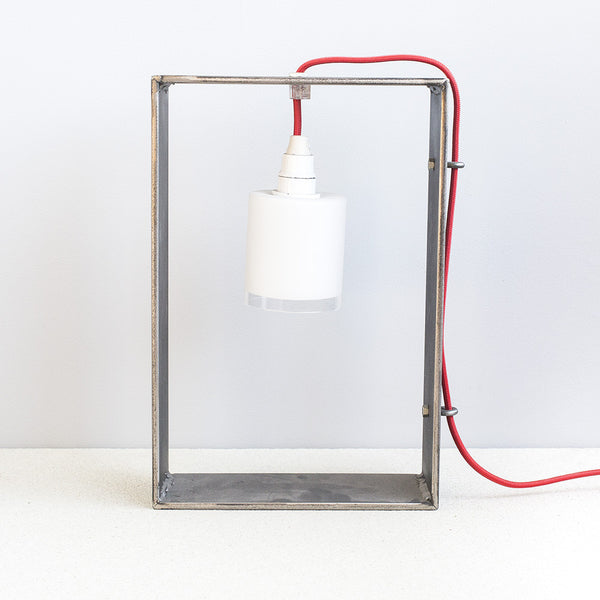 Metal Lamp Rectangle