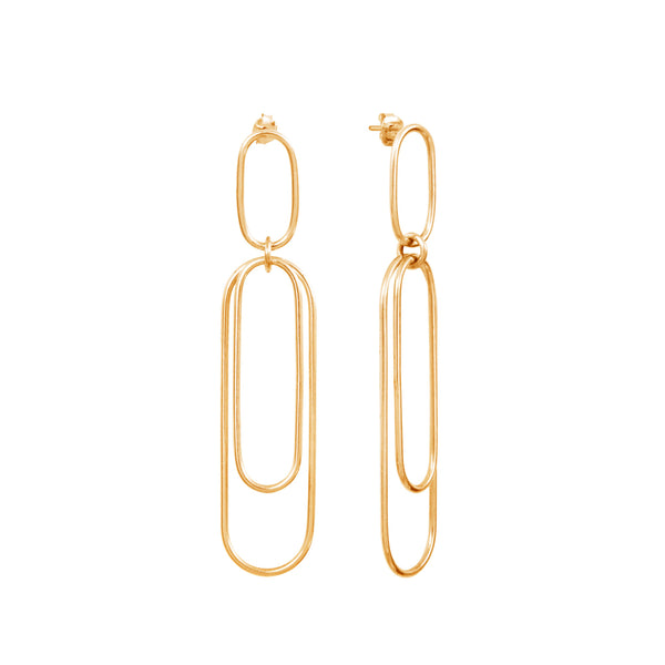 Aphéléia Versatile Goldplated Earrings