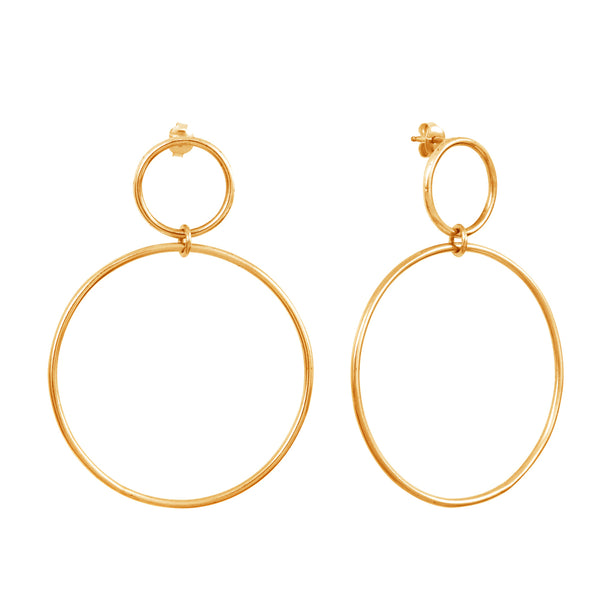 Calista Nue Goldplated Earrings