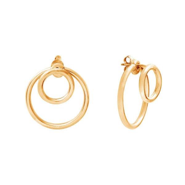 Calista Ombrée Goldplated Earrings