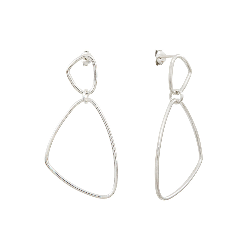 Héméra Nue Silver Earrings