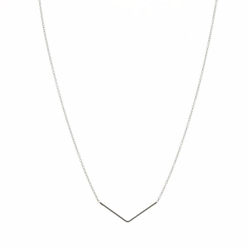 Unity Triangle Silver Necklace