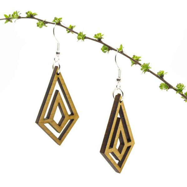 Solange Wood Earrings