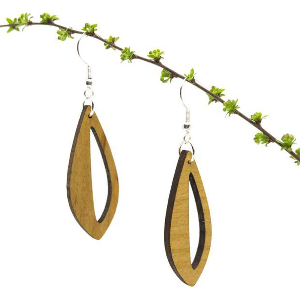 Bloem Wood Earrings