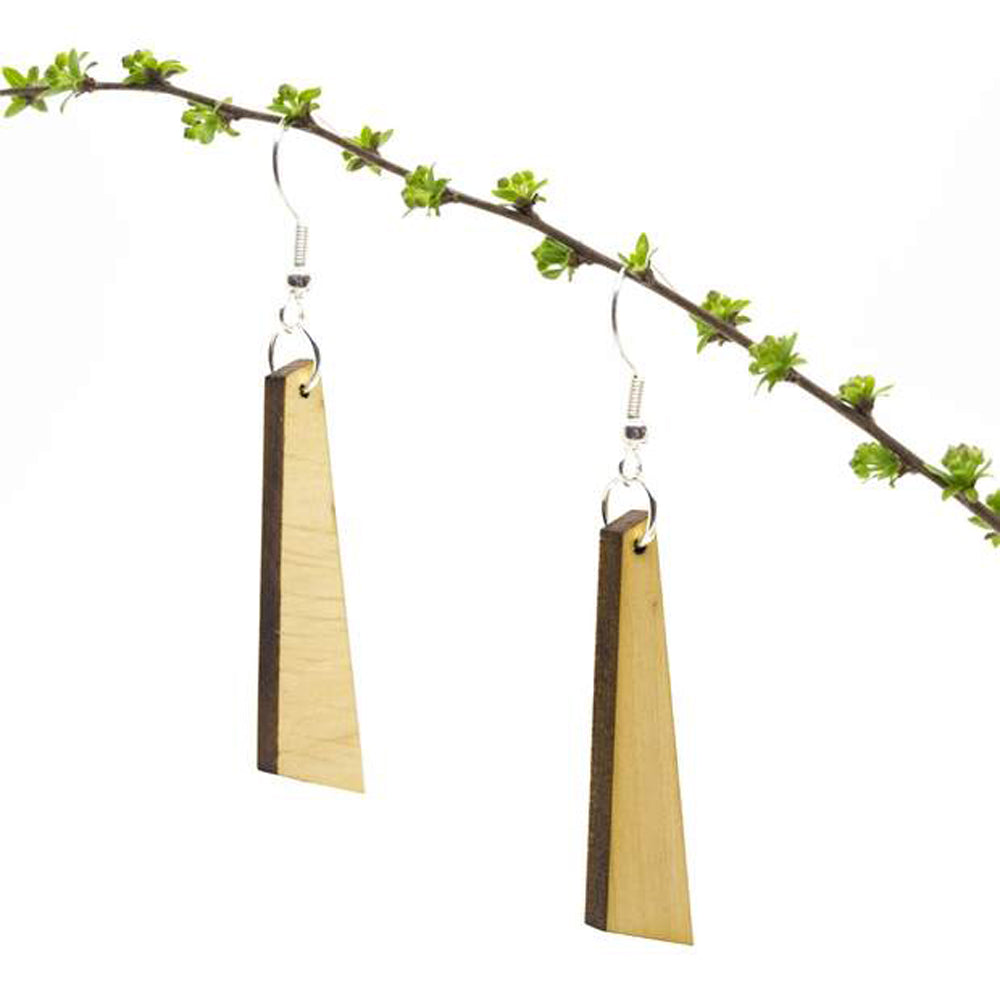 Tyrade Wood Earrings