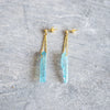 Long Stone Earrings