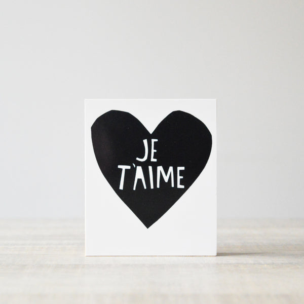 Picturewood Je t'aime