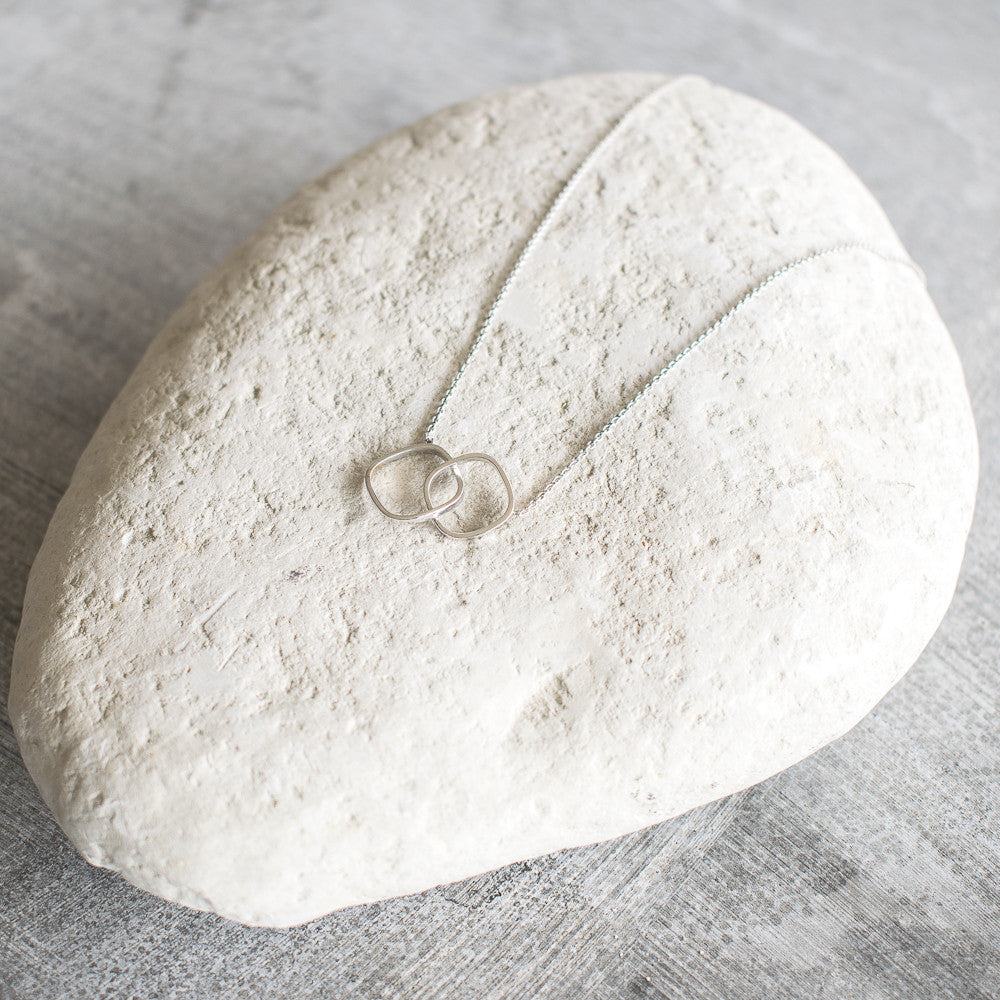 Round Square Necklace