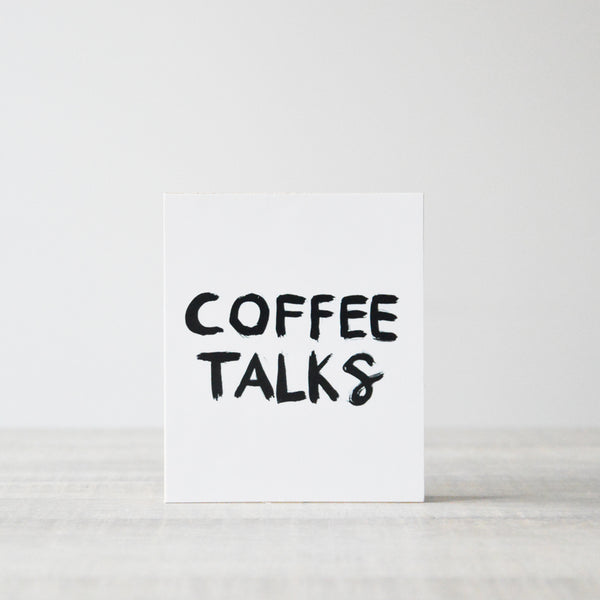 Picturewood Coffee Talks