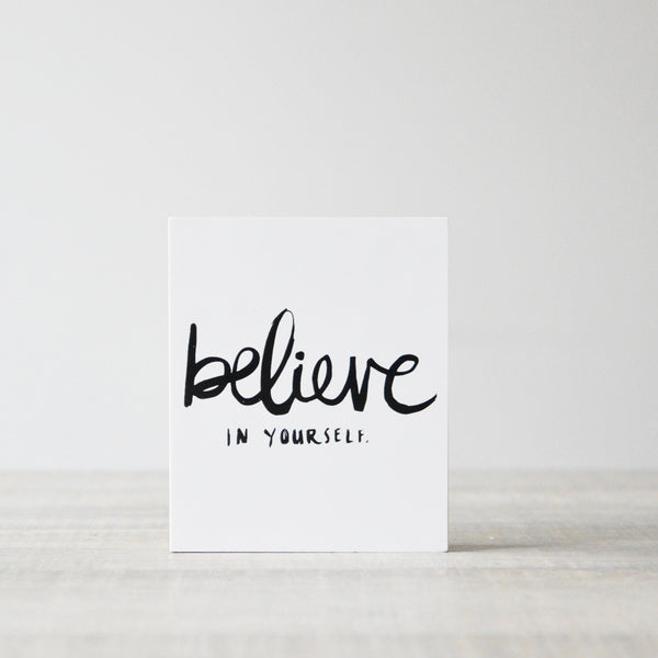 Picturewood Believe in Yourself