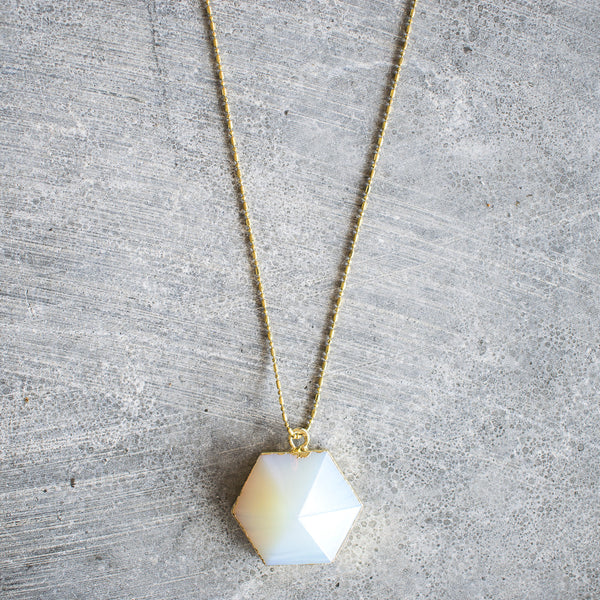 Hexagonal Necklace