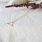 Triangle Short Necklace