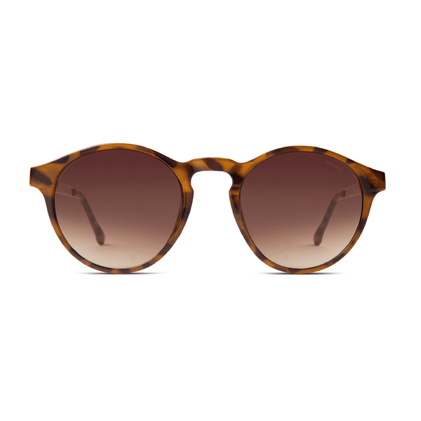Devon Metal Tortoise Rose Gold Sunglasses