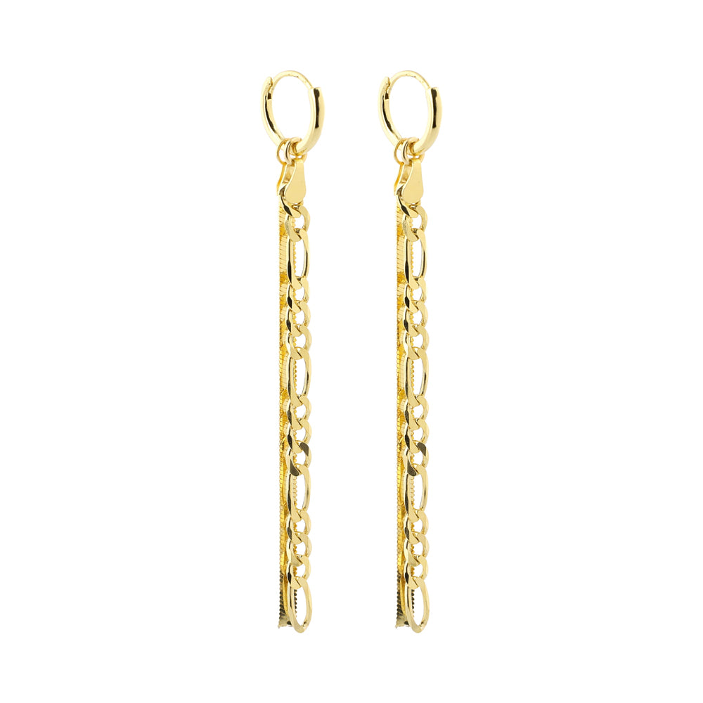 Double Figaro Sling Earrings