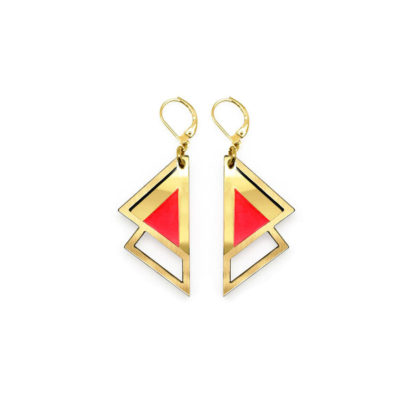 Fuji Earrings