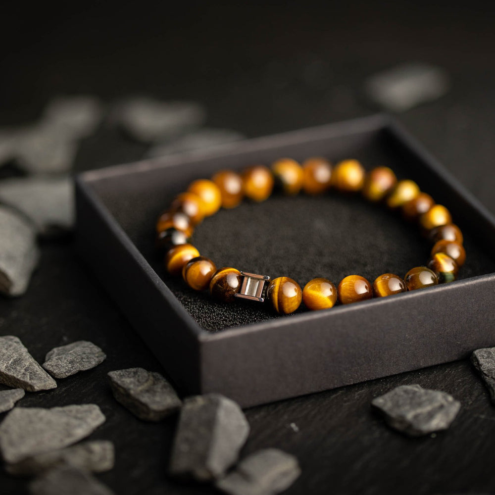 Gem Tiger Eye Stones Bracelet