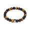 Gem Three Colours Stones Bracelet