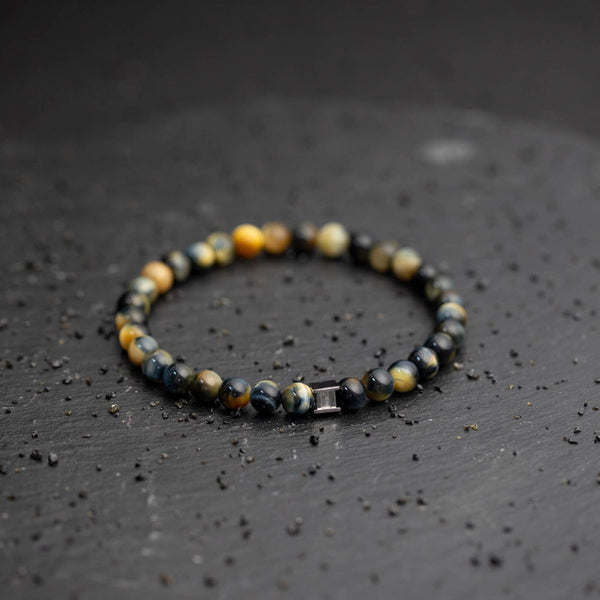 Gem Lucky Tiger 6mm Stones Bracelet