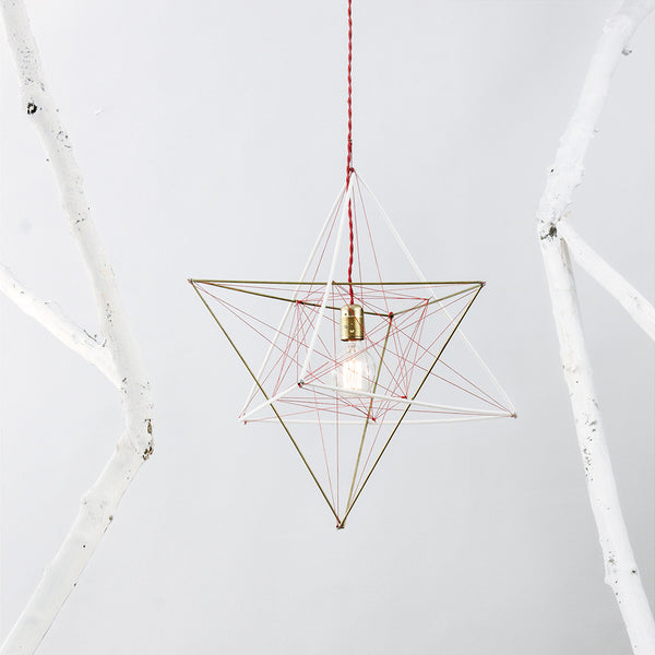 Inverted Pyramid Ceiling Lamp