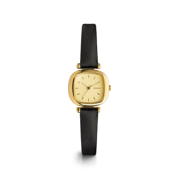 Moneypenny Gold Black Watch