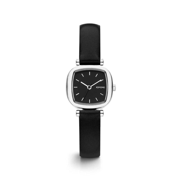 Moneypenny Black Silver Watch