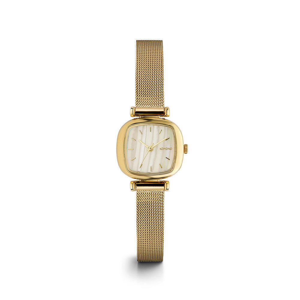 Moneypenny Royale Gold White Watch