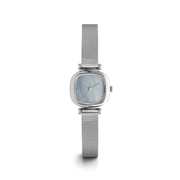 Moneypenny Royale Silver Light Blue Watch