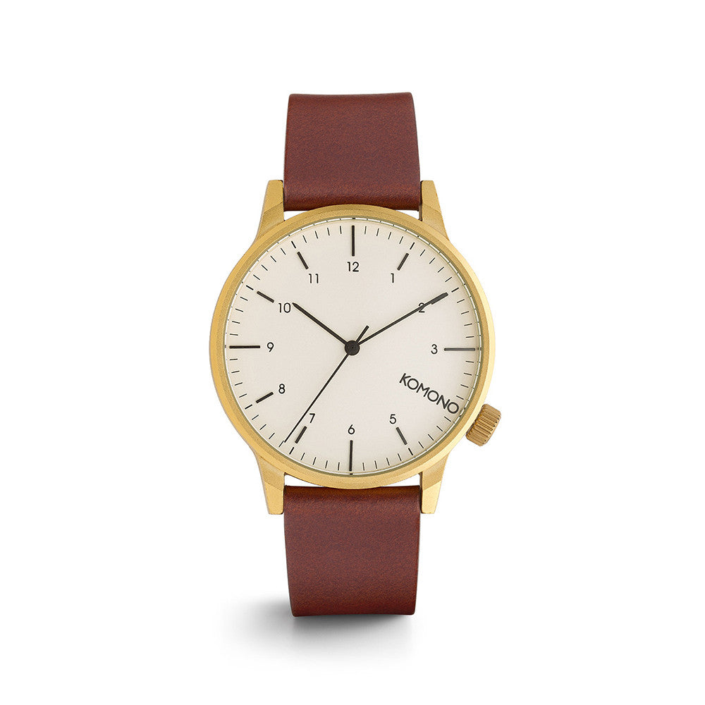 Winston Regal Chestnut Watch