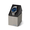 Winston Royale Silver Blue Watch
