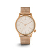 Winston Royale Rose Gold White Watch