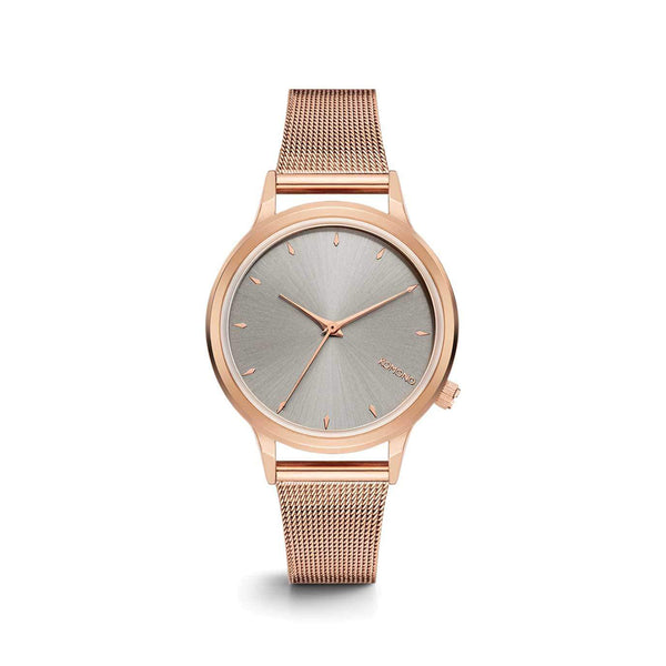 Lexi Royale Rose Gold Grey Watch