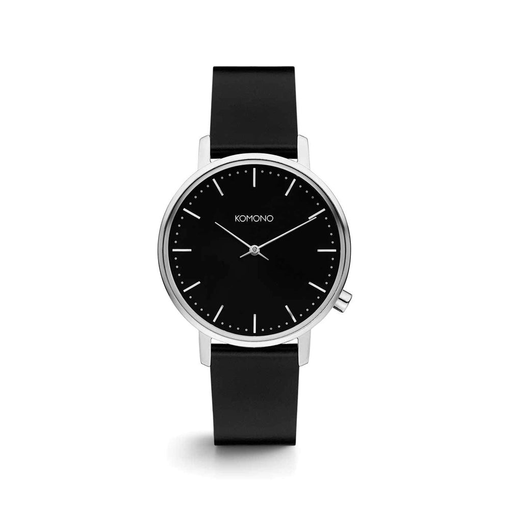 The Harlow Black Silver Watch
