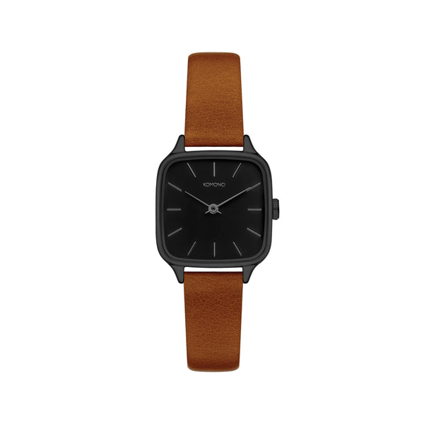 Kate Black Cognac Watch
