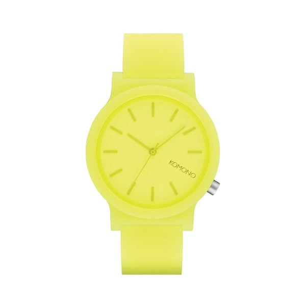 Mono Neon Yellow Watch