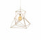 Twisted Icosahedron Lamp