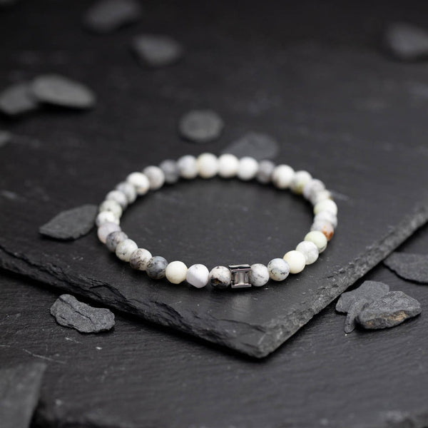 Gem Snow 6mm Stones Bracelet
