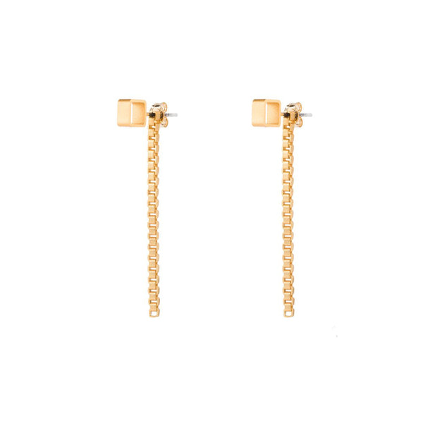 Box Chain Earrings