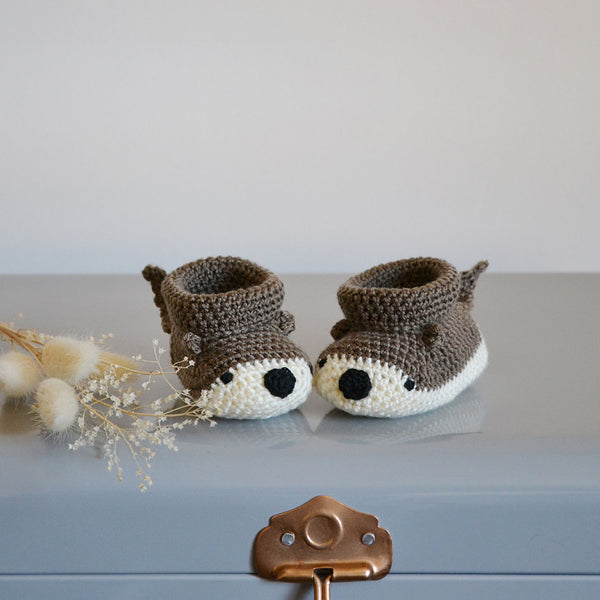 My Little Otter Baby Shoes