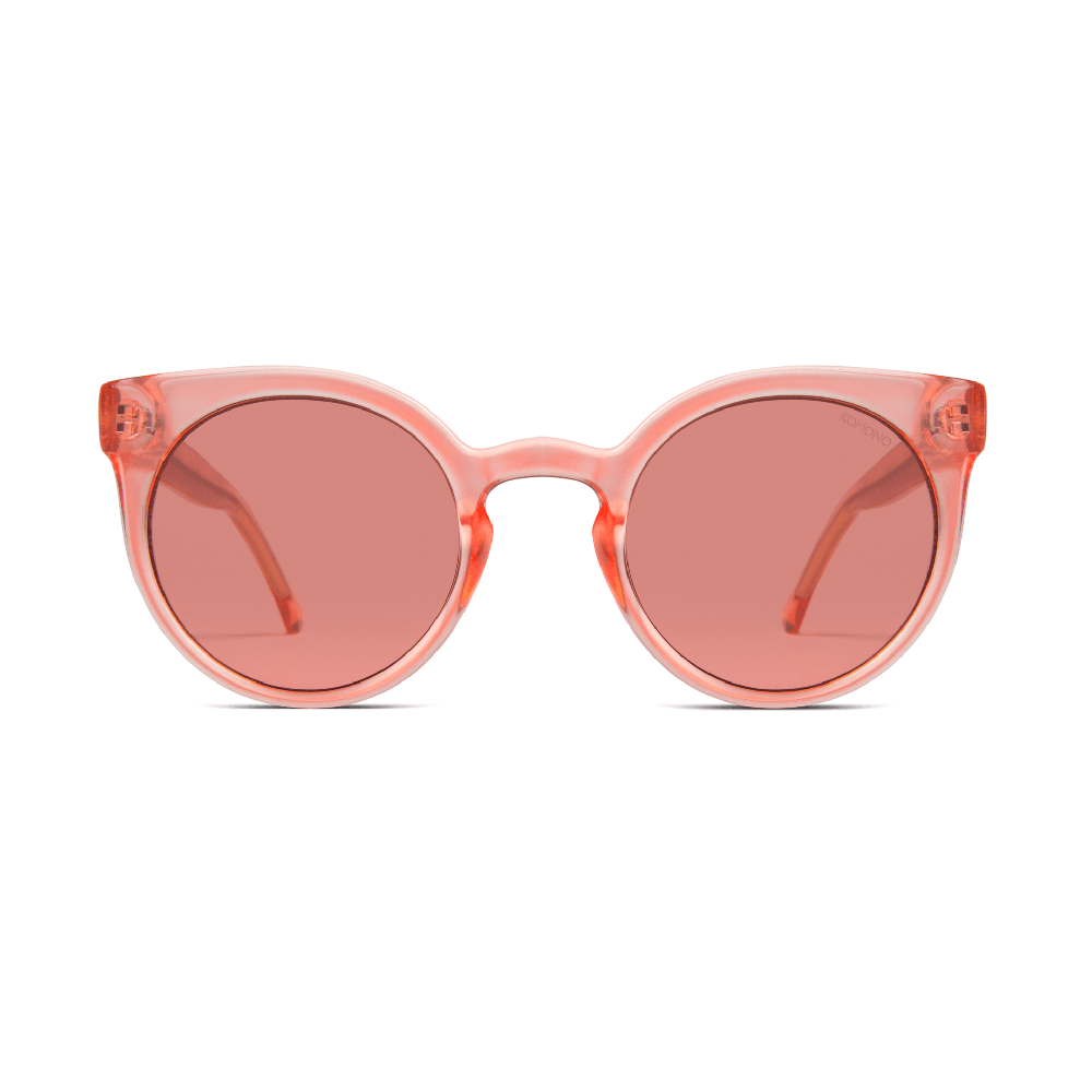 Lulu Peach Sunglasses