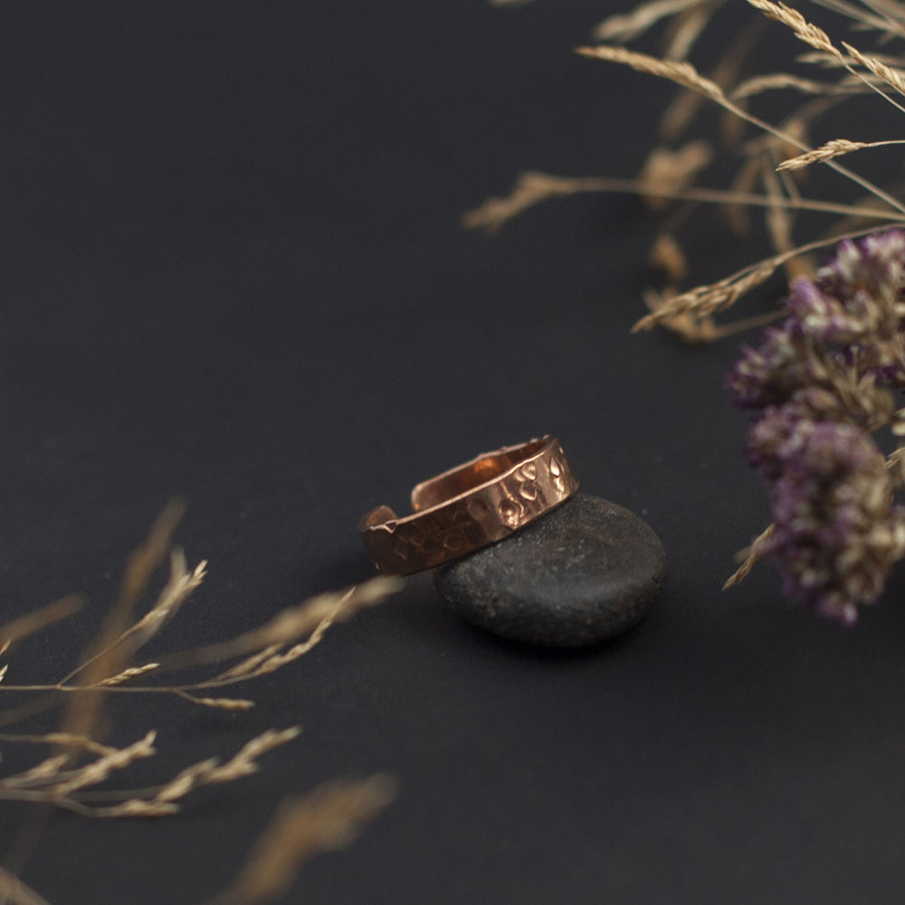 Open Copper Ring