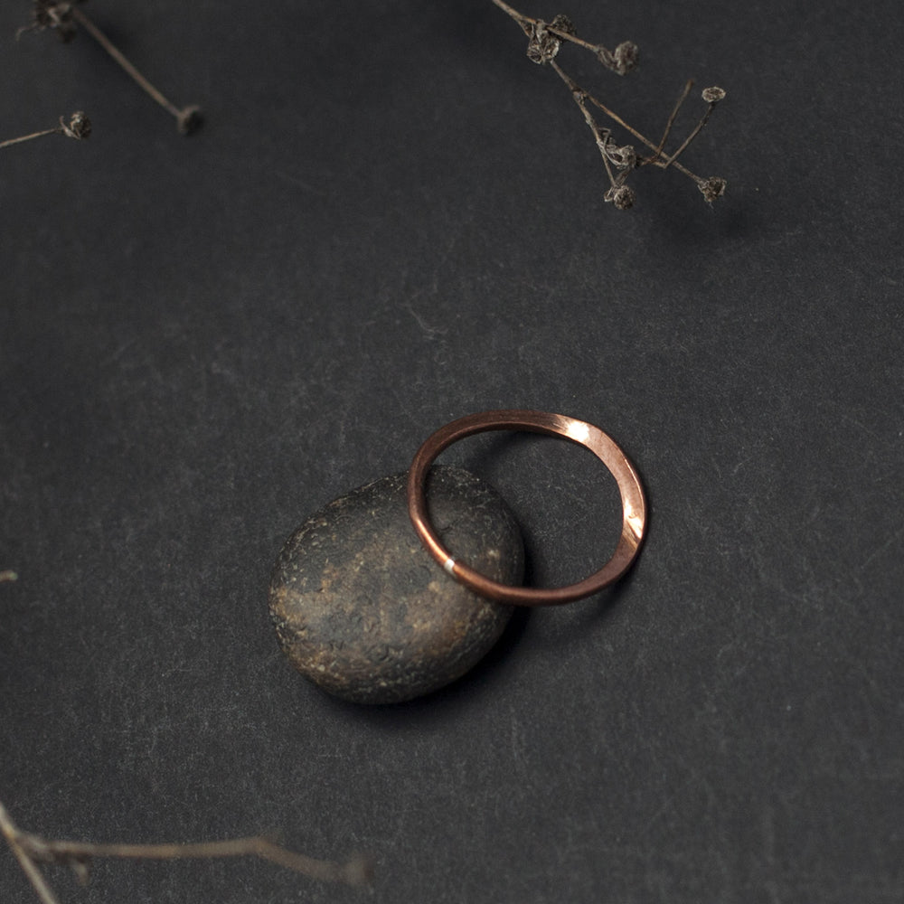 Plated Copper Ring
